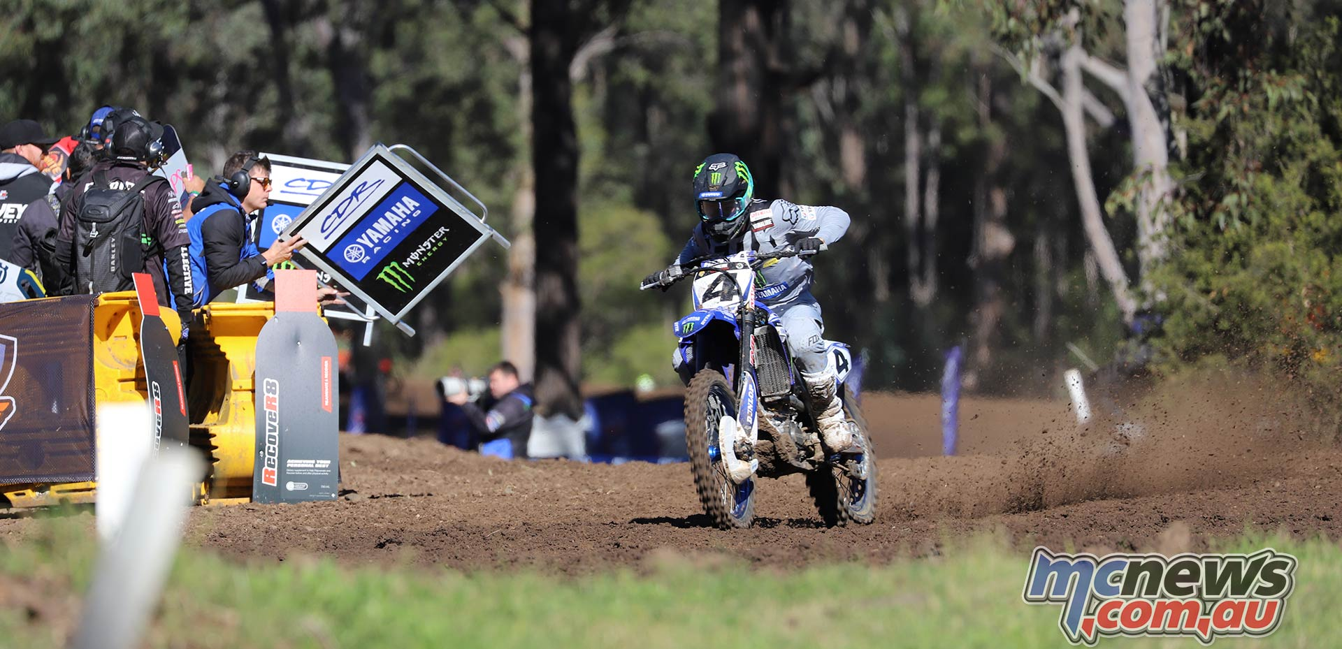 MX Nationals Rnd Maitland MX Luke Clout Board ImageBellaMaurer