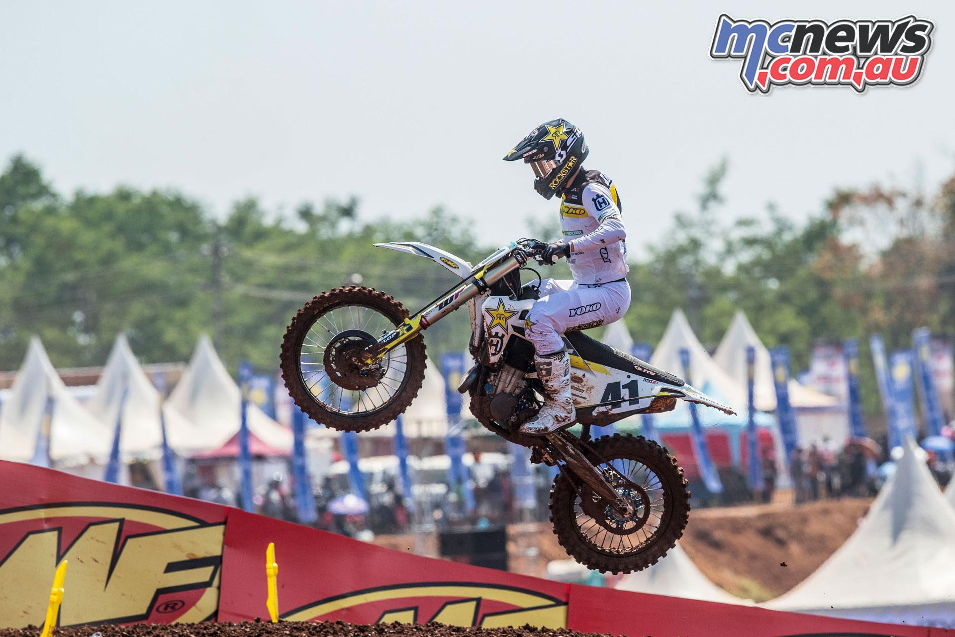 MXGP Asia Semarang Rnd Pauls Jonass