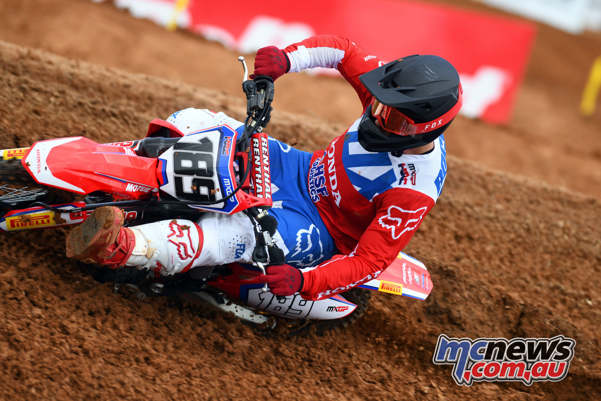 MXGP Indonesia MX Bogers action