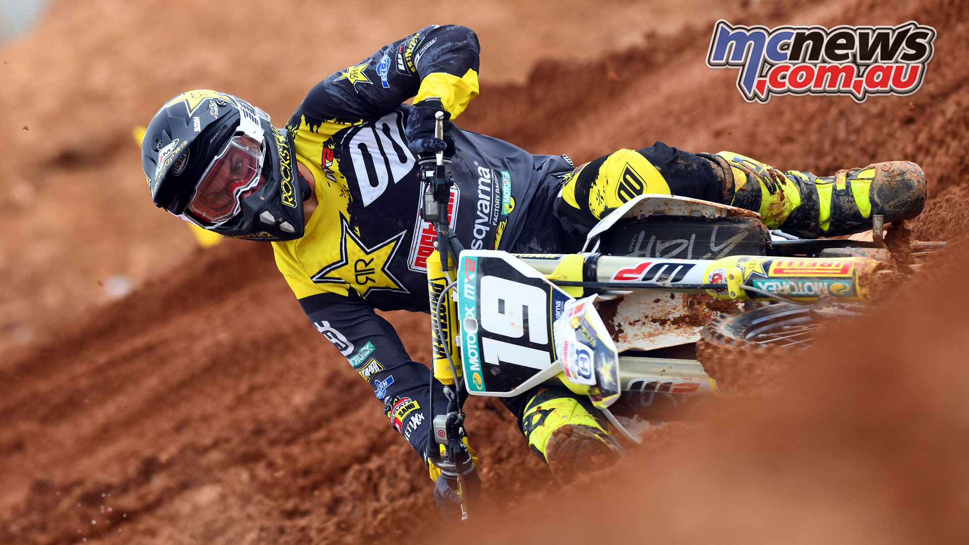 MXGP Indonesia MX Olsen action