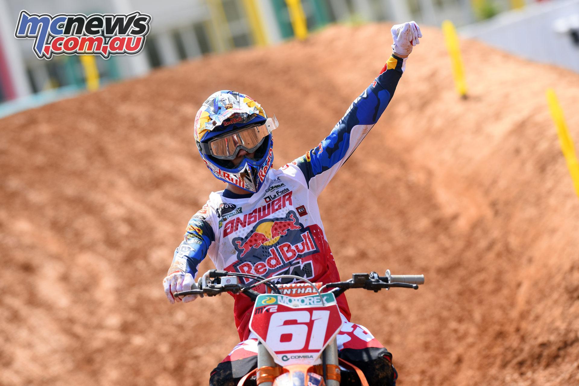 MXGP Indonesia MX Prado finish