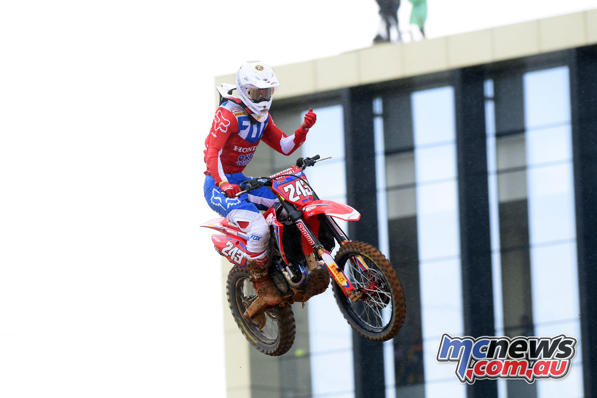 MXGP Indonesia MX Gajser finish