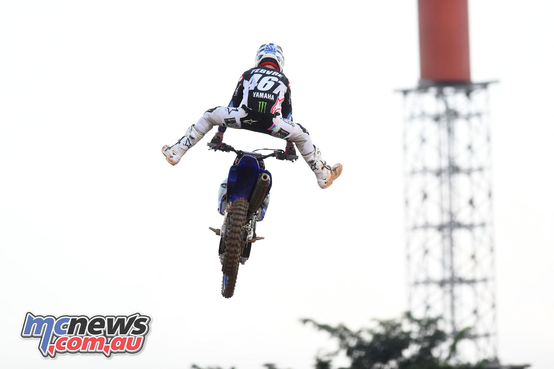 MXGP Indonesia MX Febvre finish