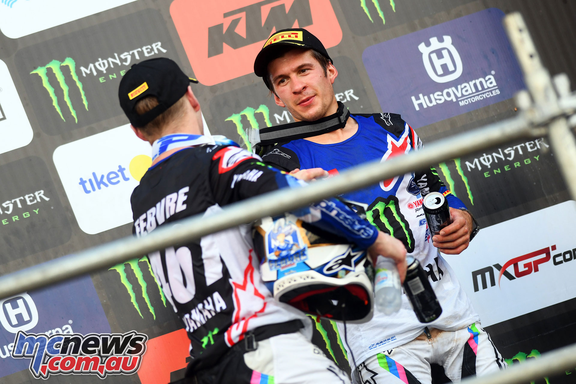MXGP Indonesia MX Febvre Seewer podium