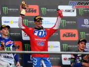 MXGP Indonesia MX Gajser podium