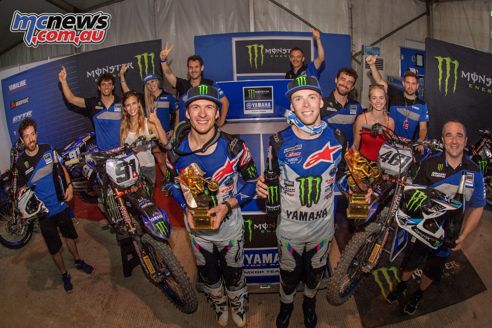MXGP Indonesia Romain Febvre Jeremy Seewer