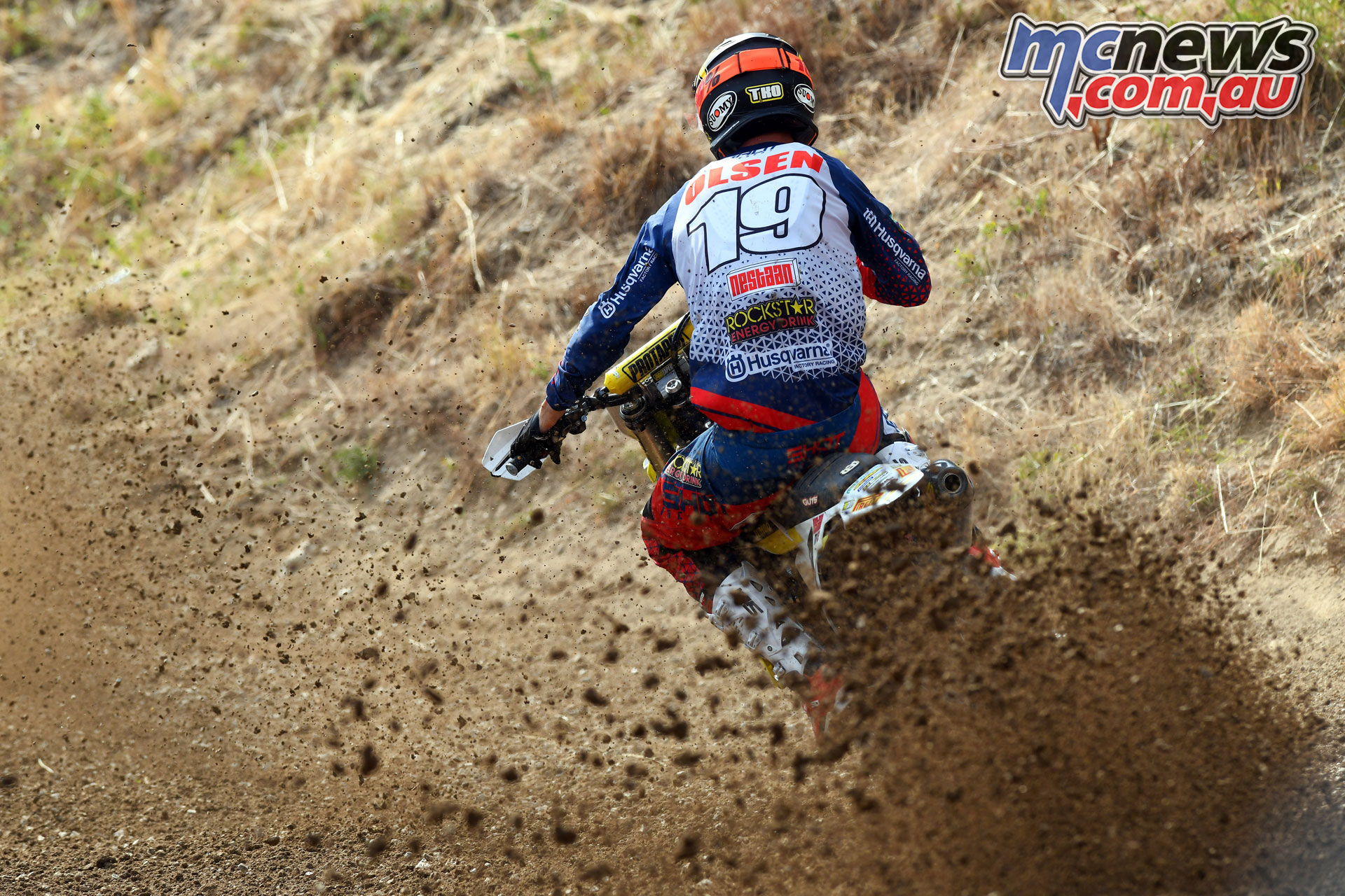 MXGP Rnd Czech Loket MX Olsen action