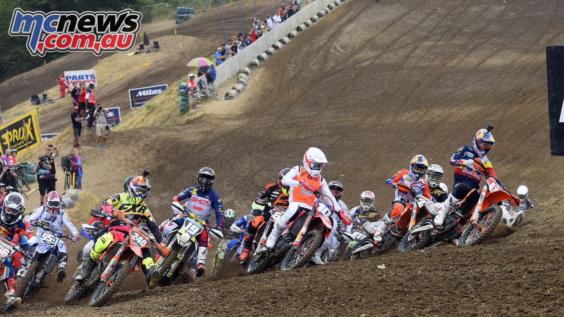 MXGP Rnd Czech Loket MX Prado start
