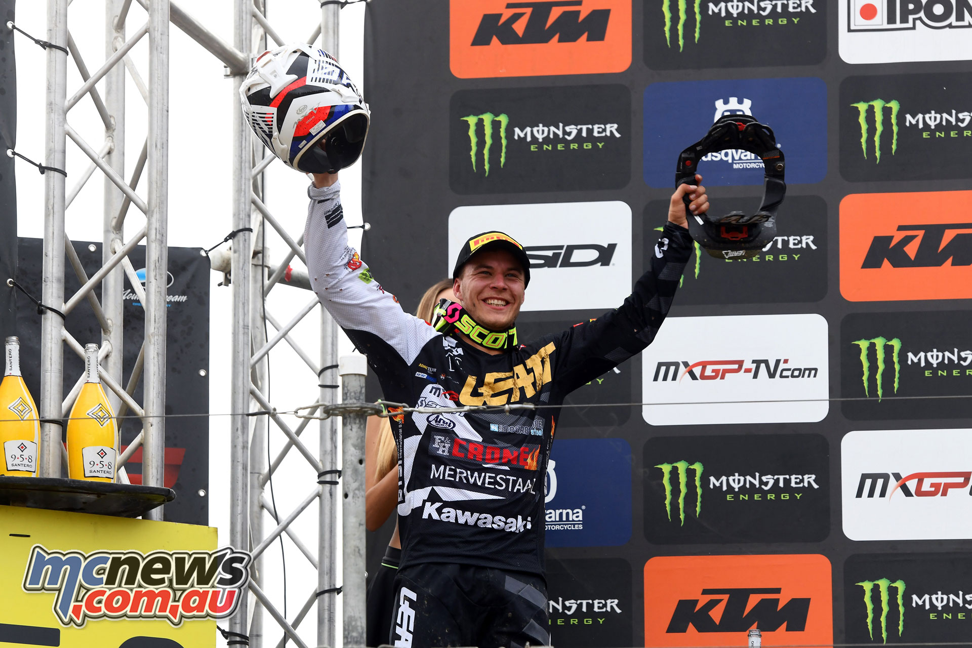 MXGP Rnd Czech Loket MX Jacobi podium