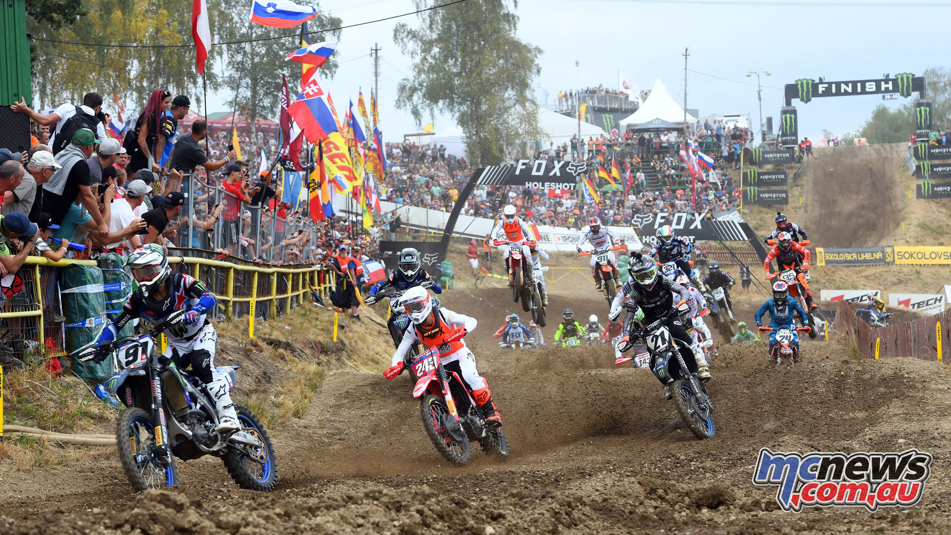 MXGP Rnd Czech Loket MX Gajser start