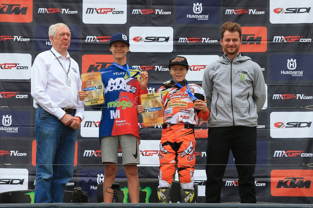 MXGP Rnd Czech Locket EMX PODIUM