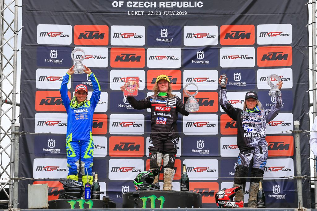 MXGP Rnd Czech Locket WMX Podium