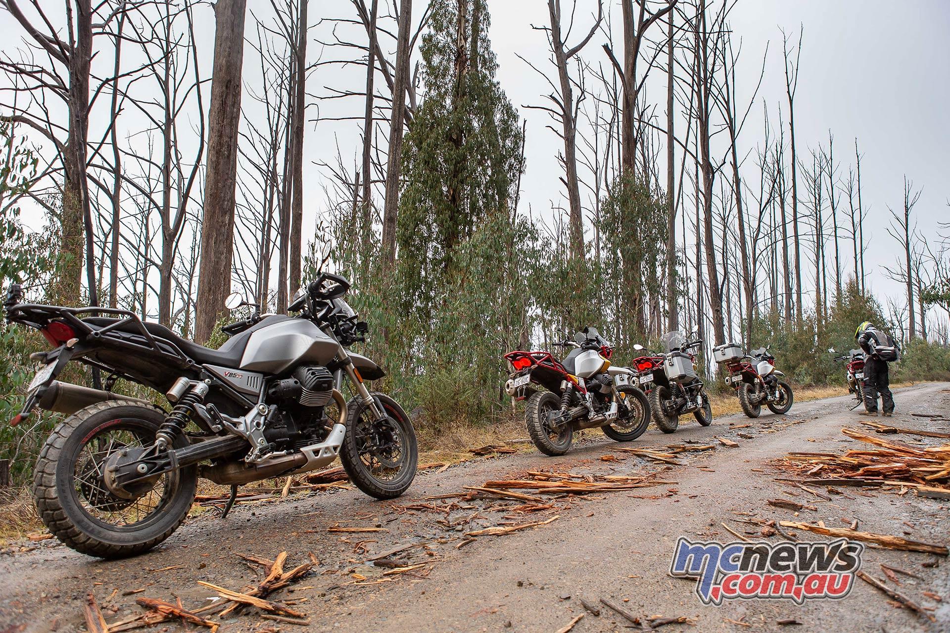 Moto Guzzi VTT Launch Colours