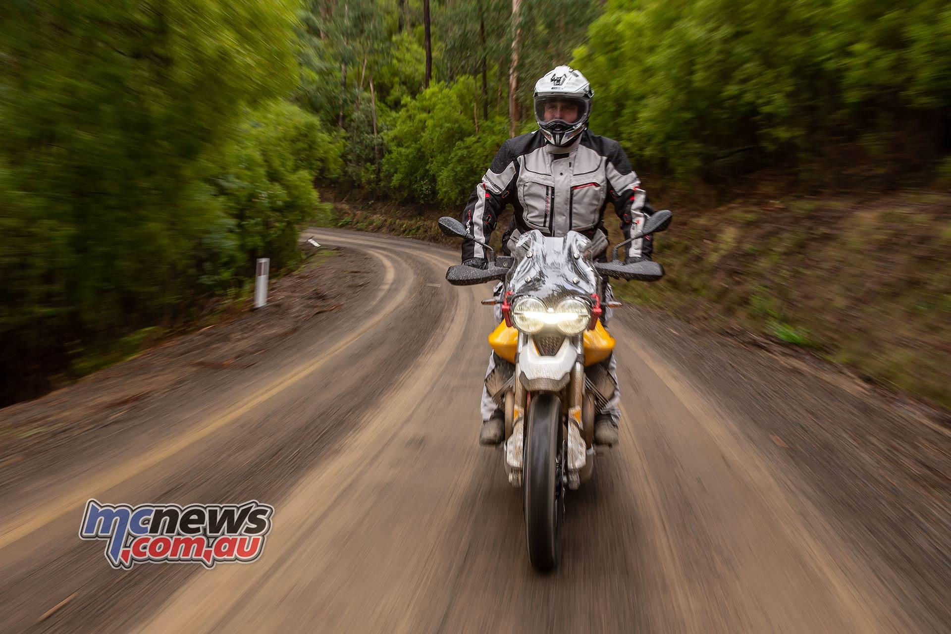 Moto Guzzi VTT Launch Dirt