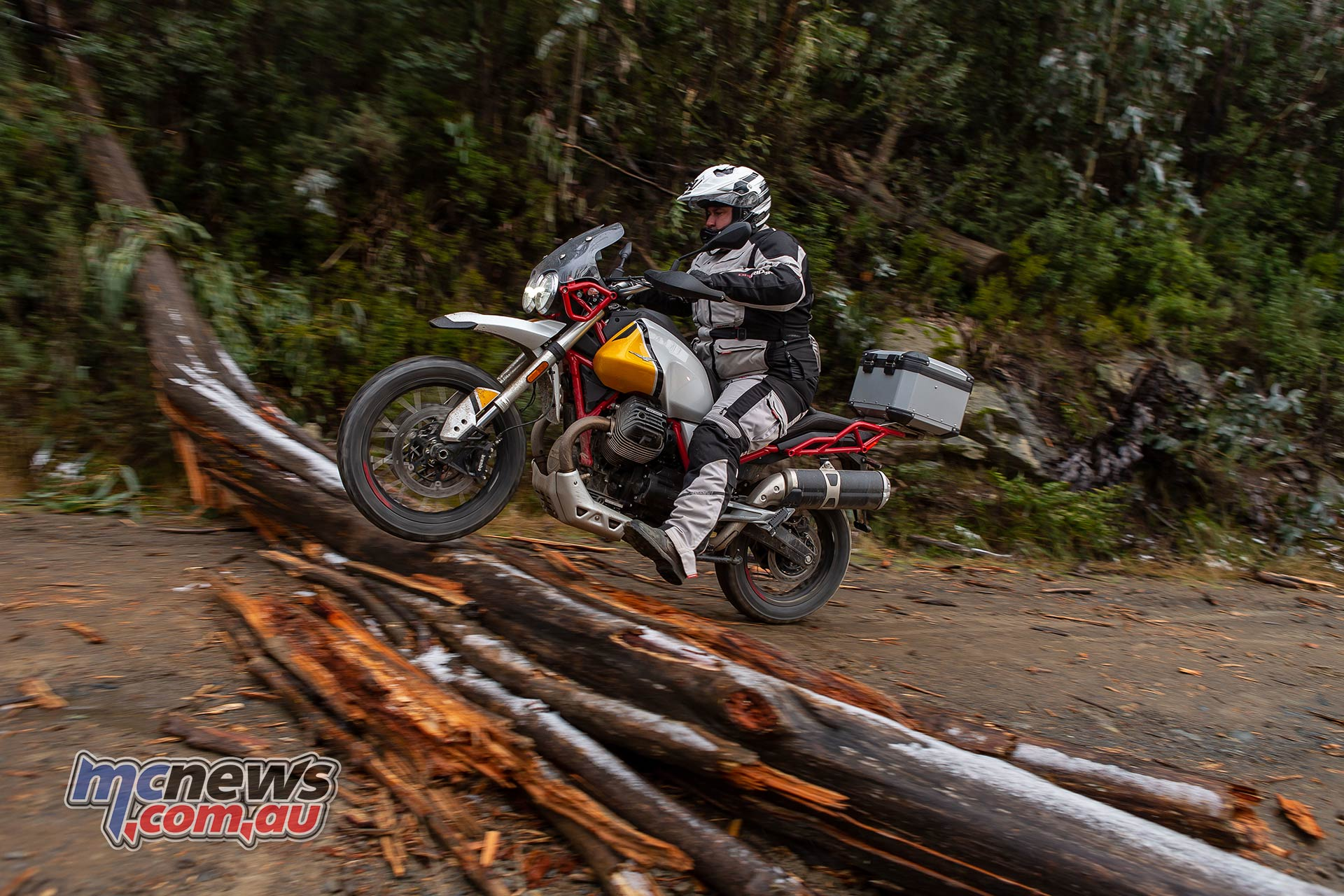 Moto Guzzi VTT Launch Log