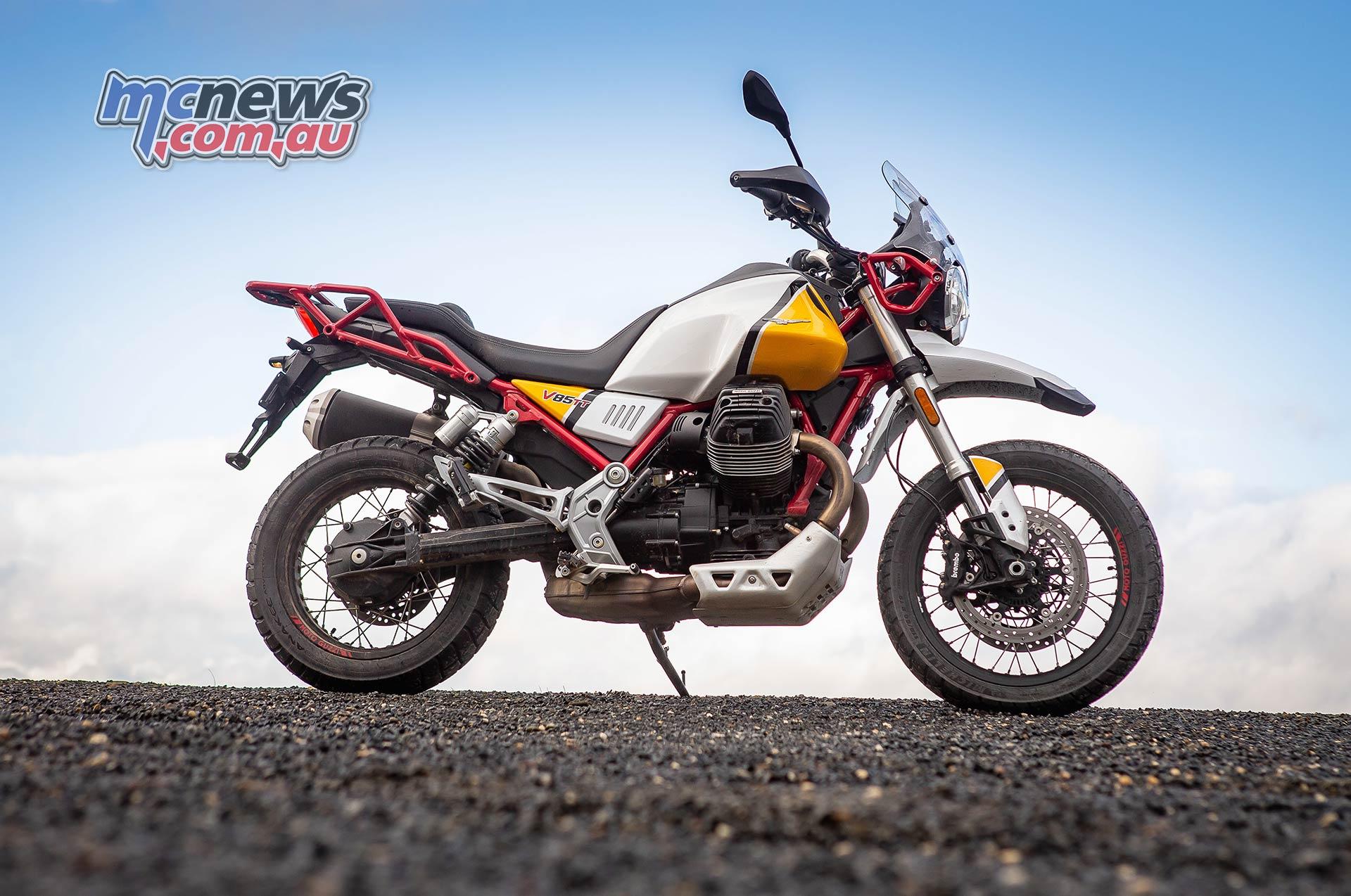 Moto Guzzi VTT Launch RHS