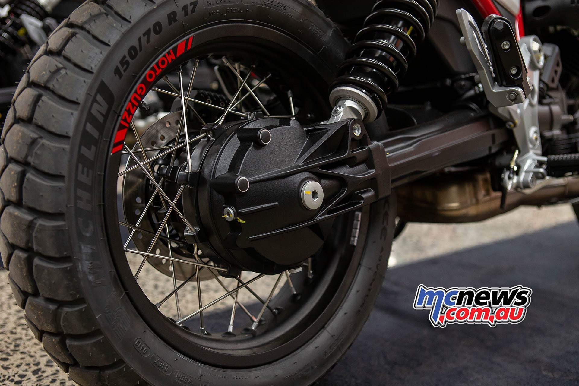 Moto Guzzi VTT Launch Shaft