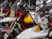 Moto Guzzi VTT Launch Showroom