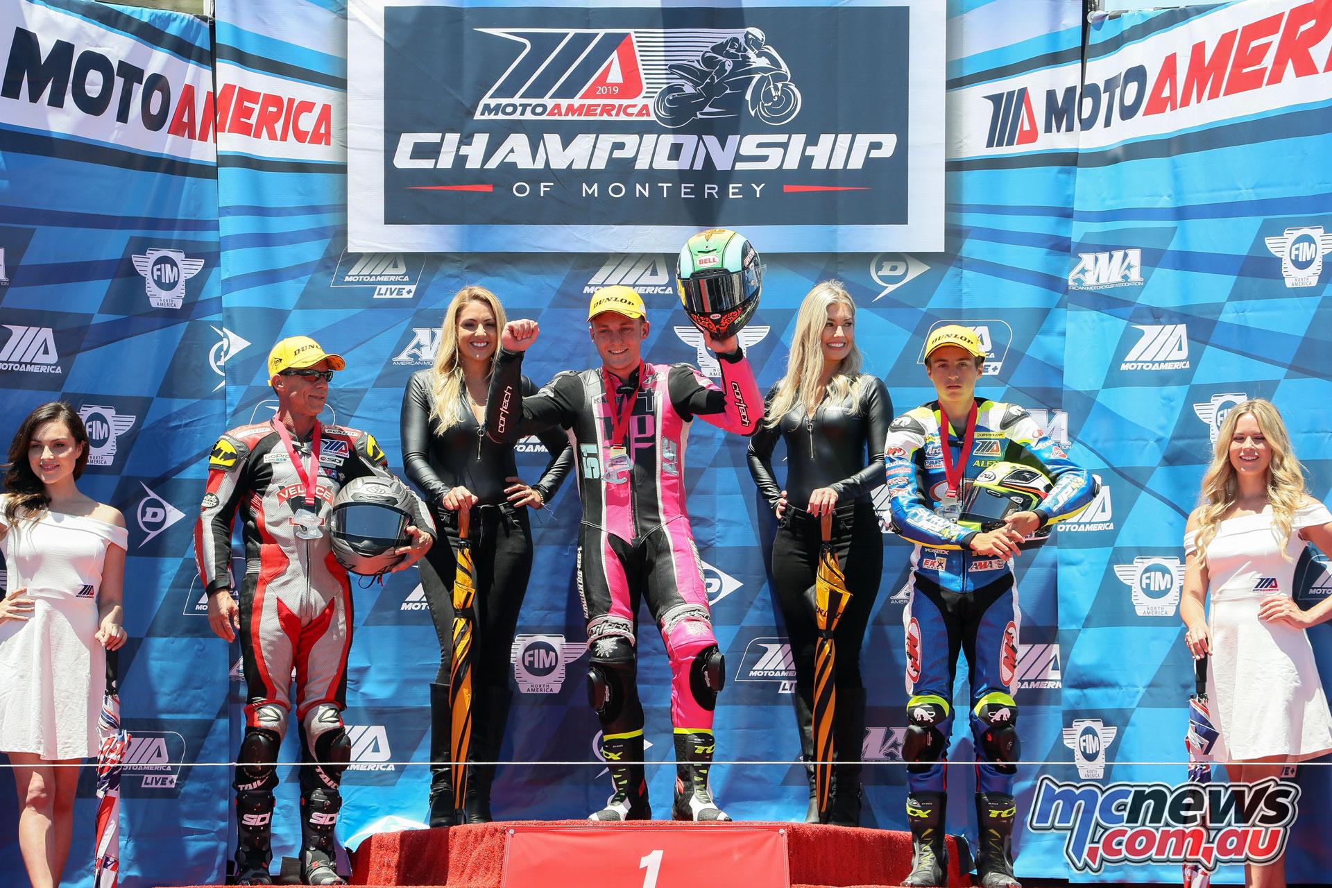MotoAmerica Rnd Laguna Seca Sat Twins Cup