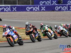 MotoE Rnd Germany Terol leads Gibernau
