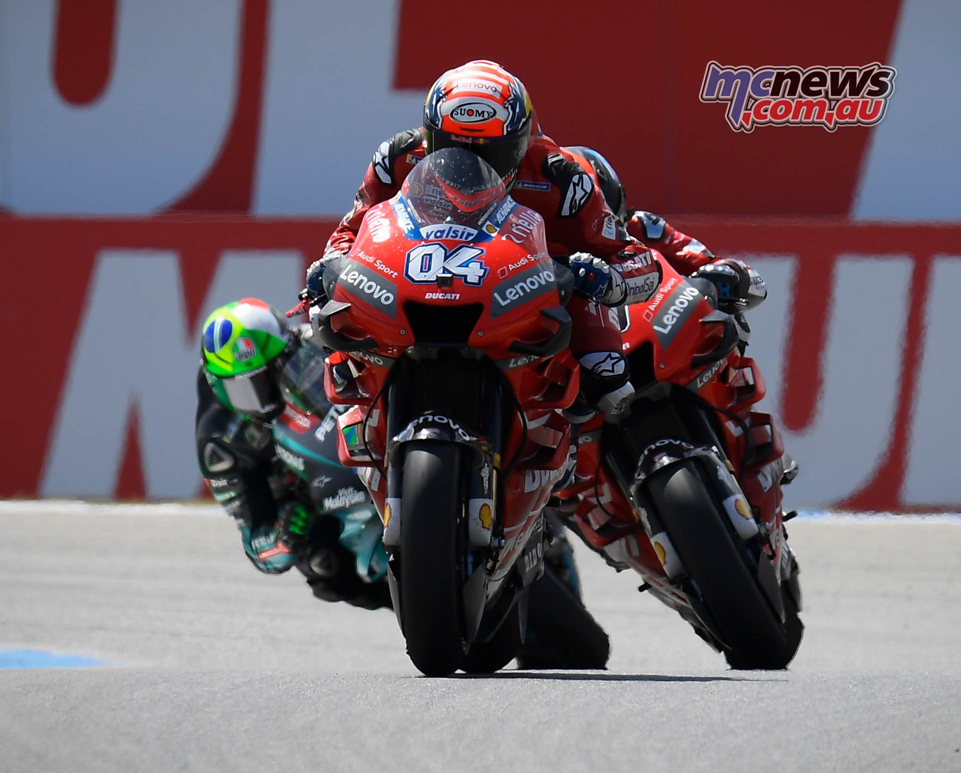 MotoGP Rnd Assen Race Dovizioso Petrucci Morbidelli