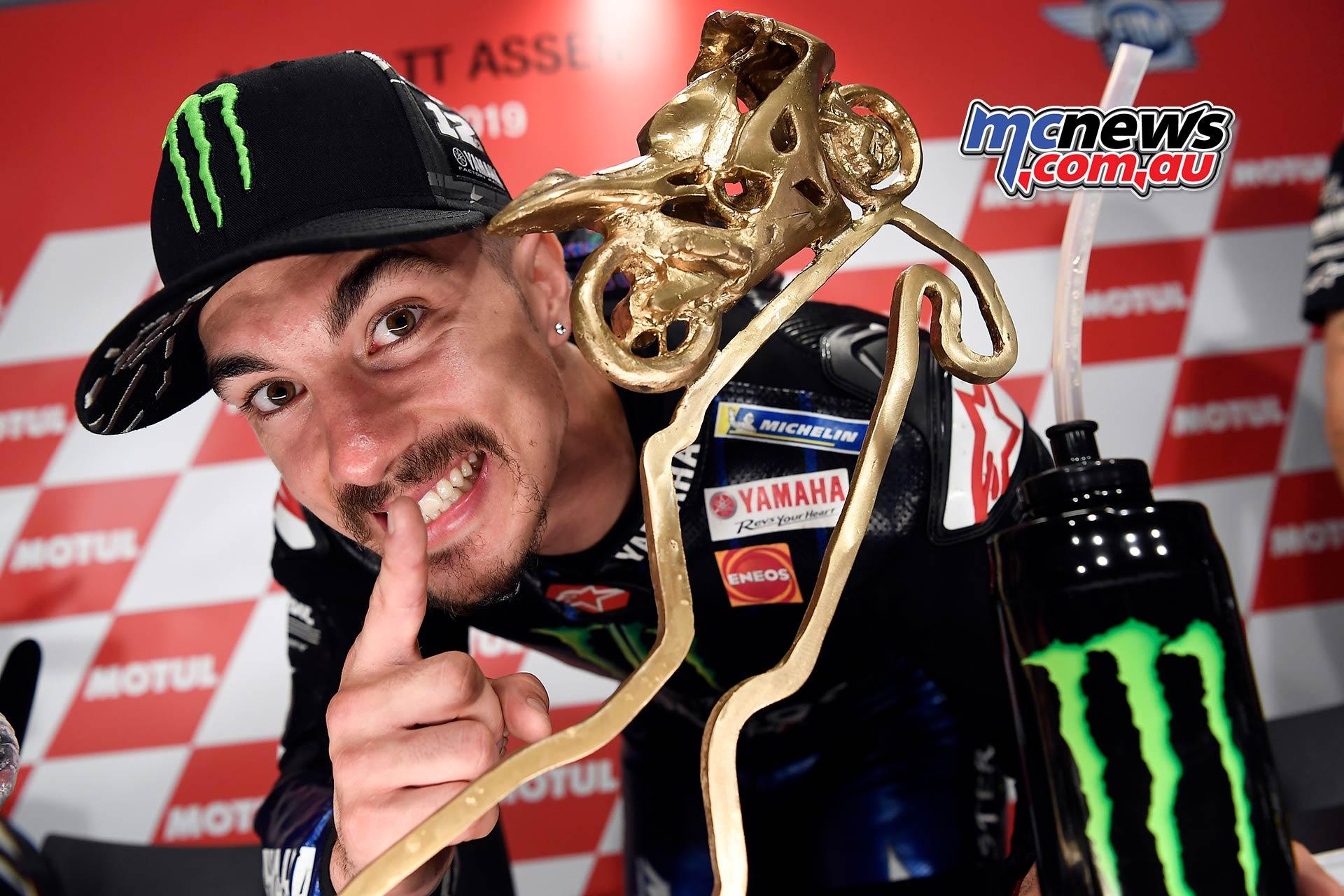 MotoGP Rnd Assen Race Marquez Trophy