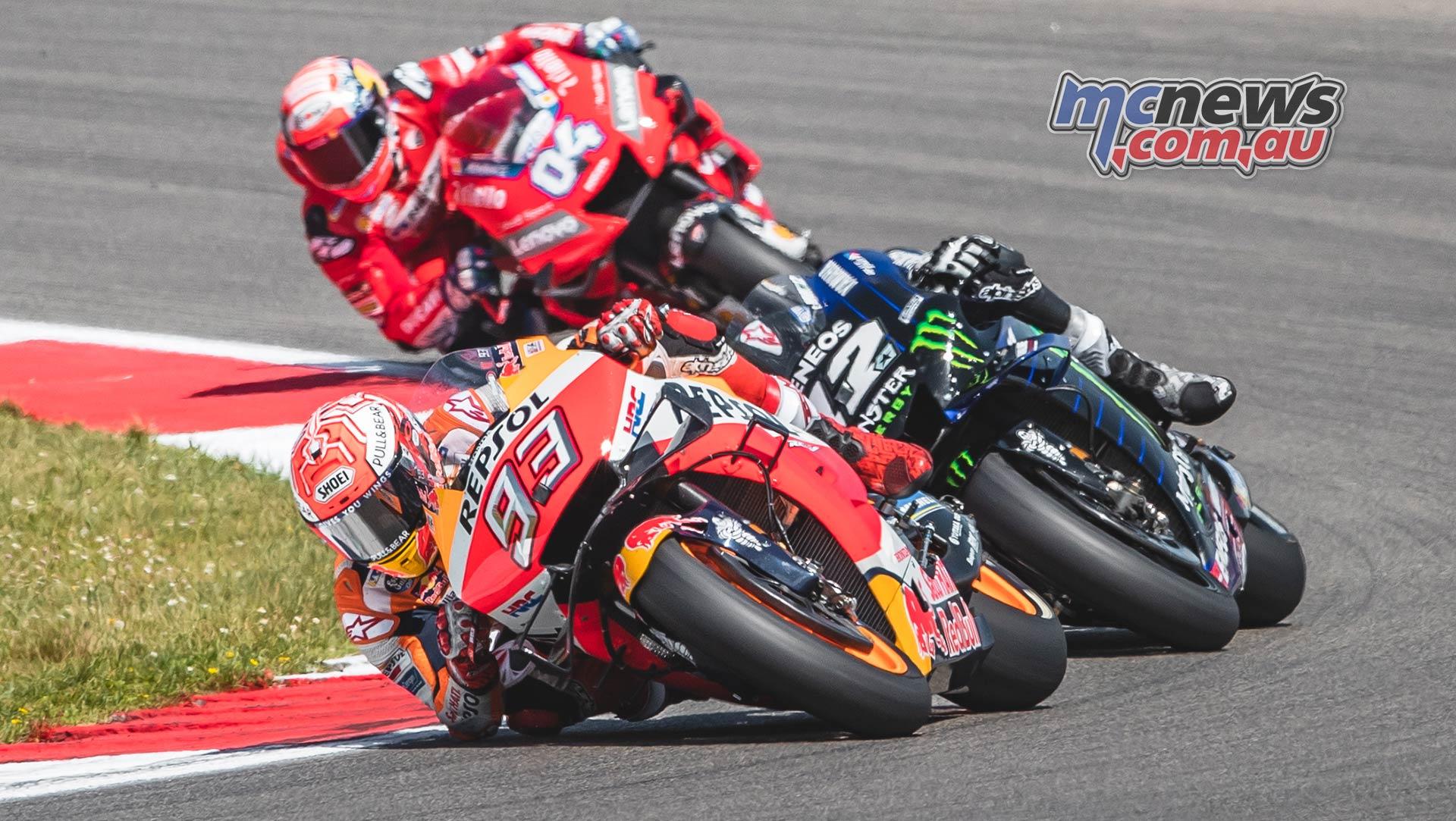 MotoGP Rnd Assen Race Marquez Vinales Dovizioso