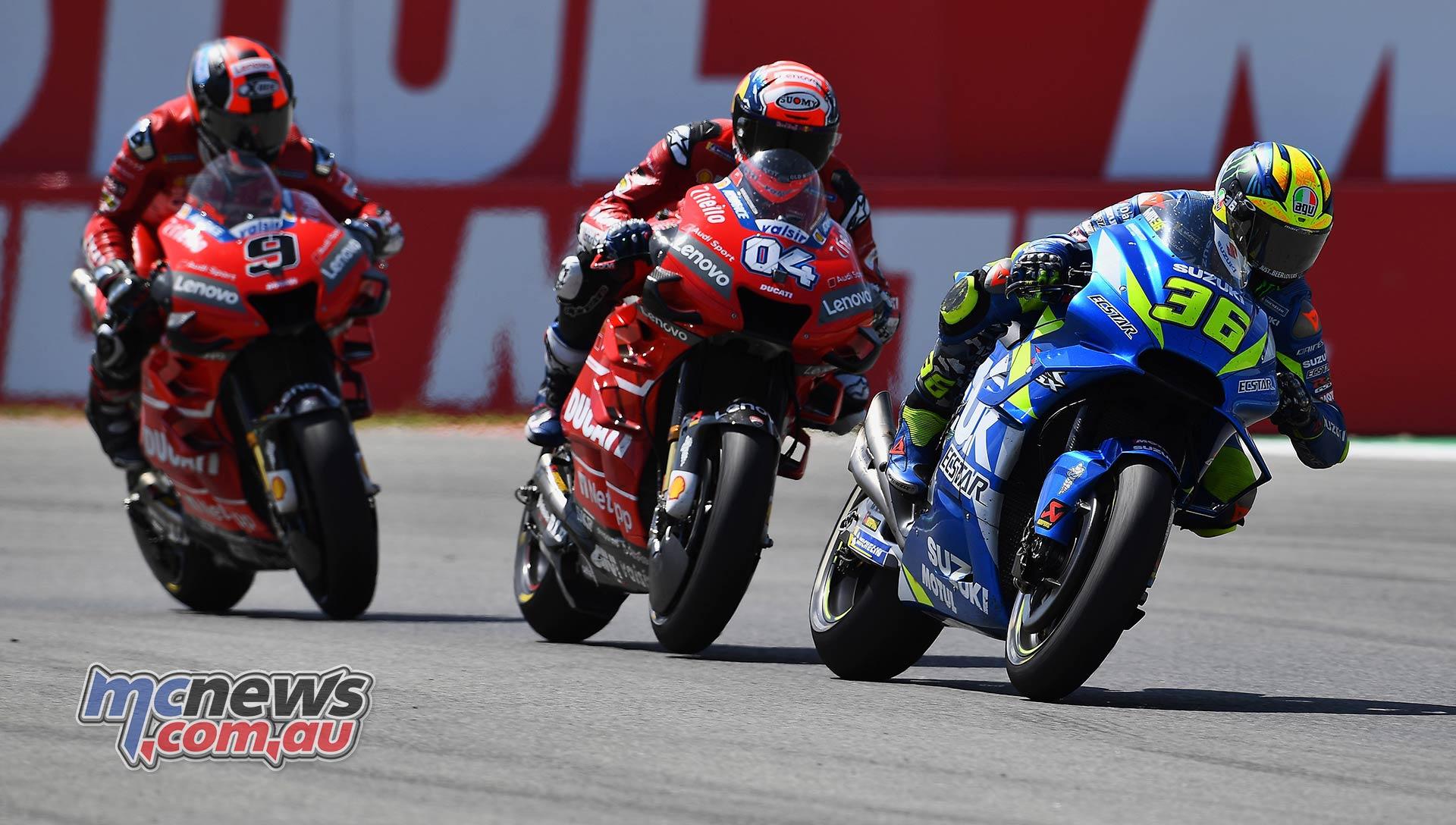 MotoGP Rnd Assen Race Mir Dovizioso Petrucci