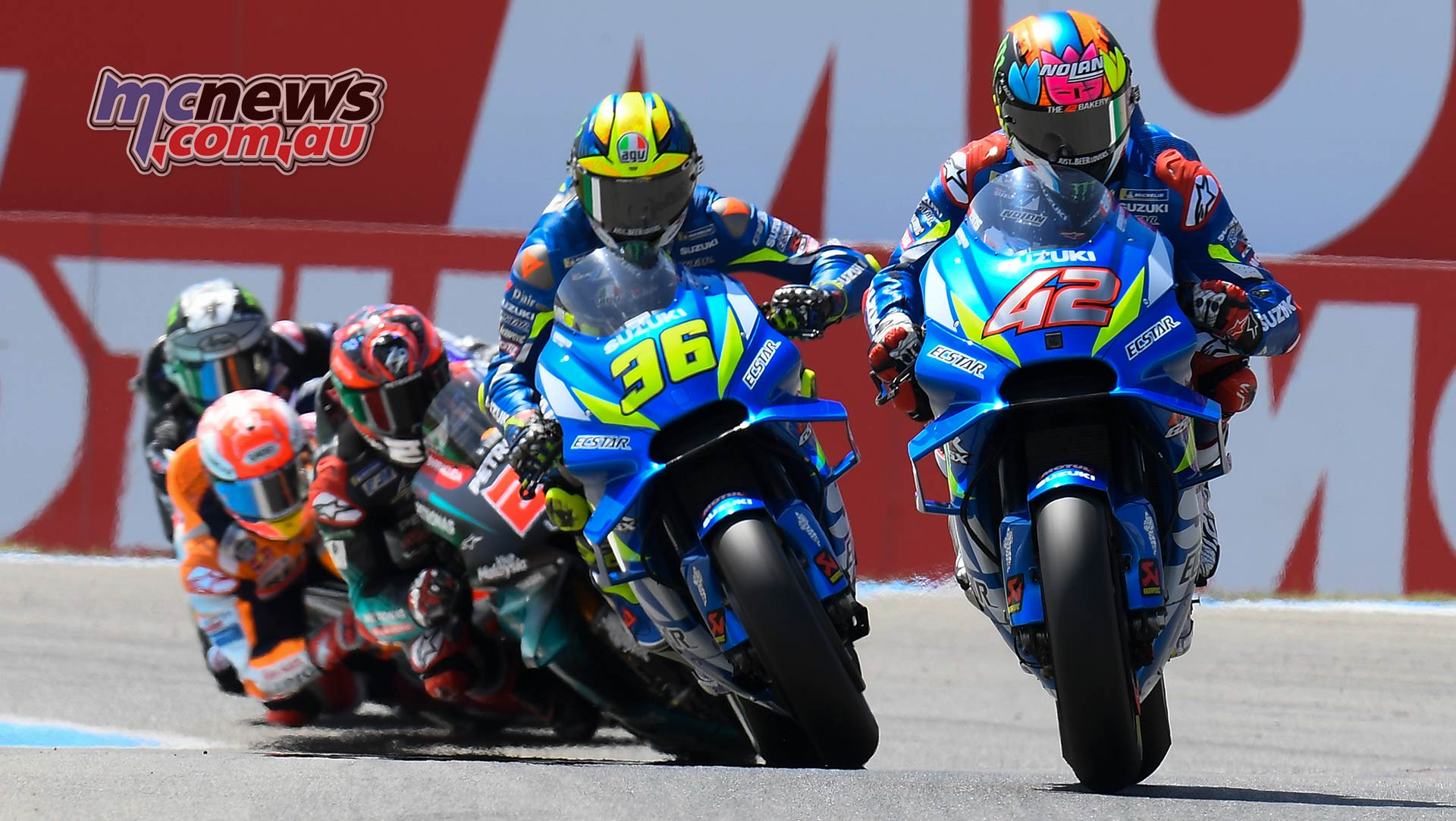 MotoGP Rnd Assen Race Rins Mir Quartararo Marquez Vinales
