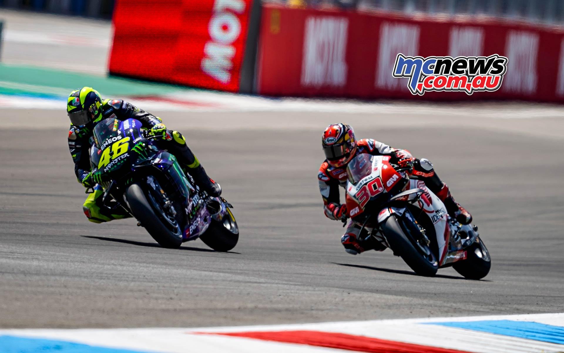 MotoGP Rnd Assen Race Rossi Nakagami