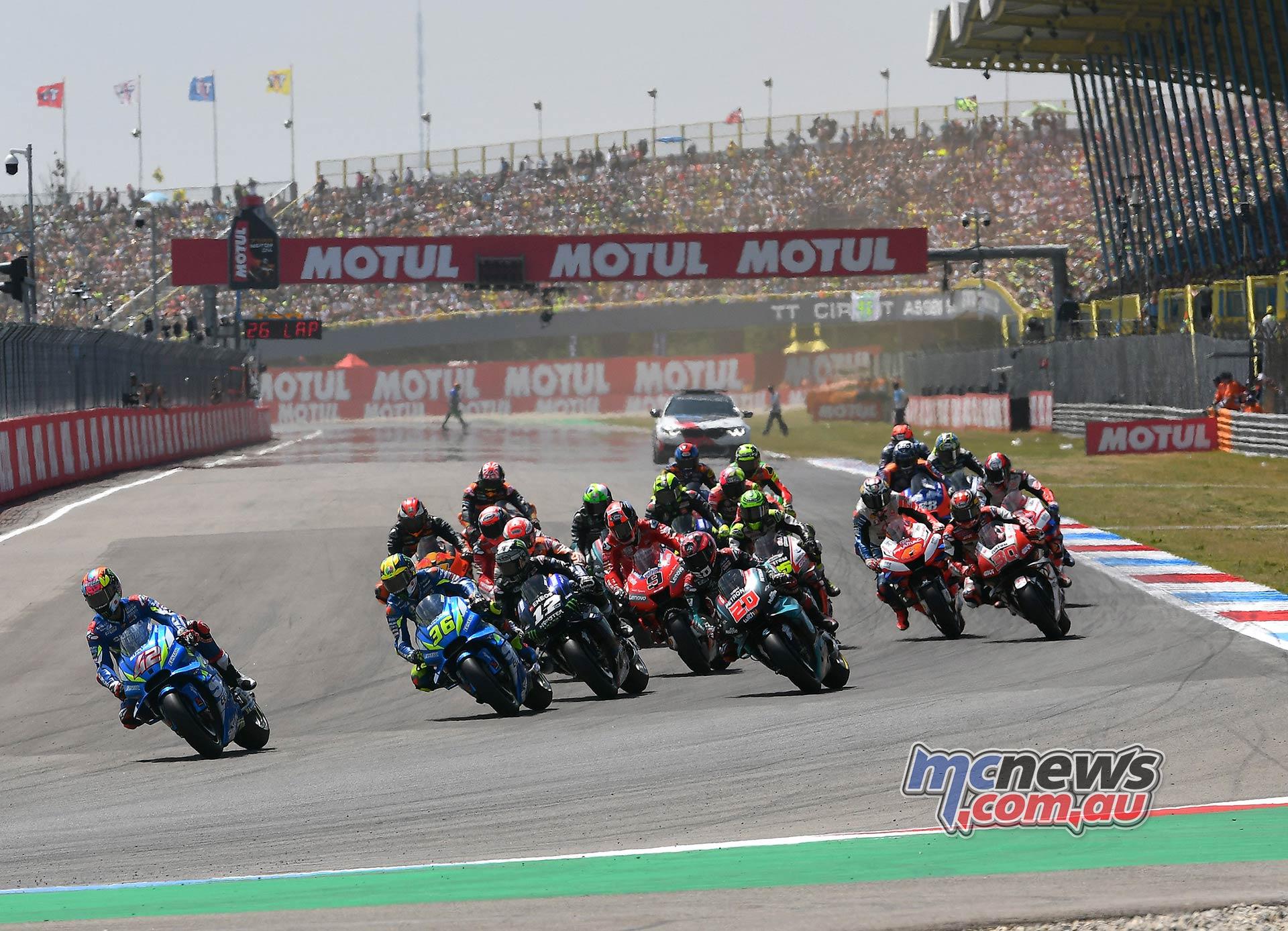 MotoGP Rnd Assen Race Start