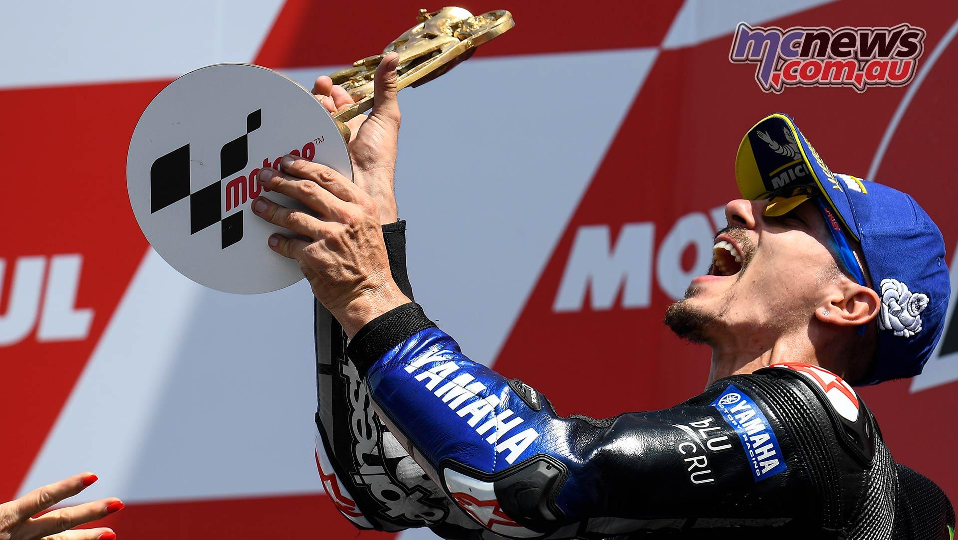 MotoGP Rnd Assen Race Vinales Trophy