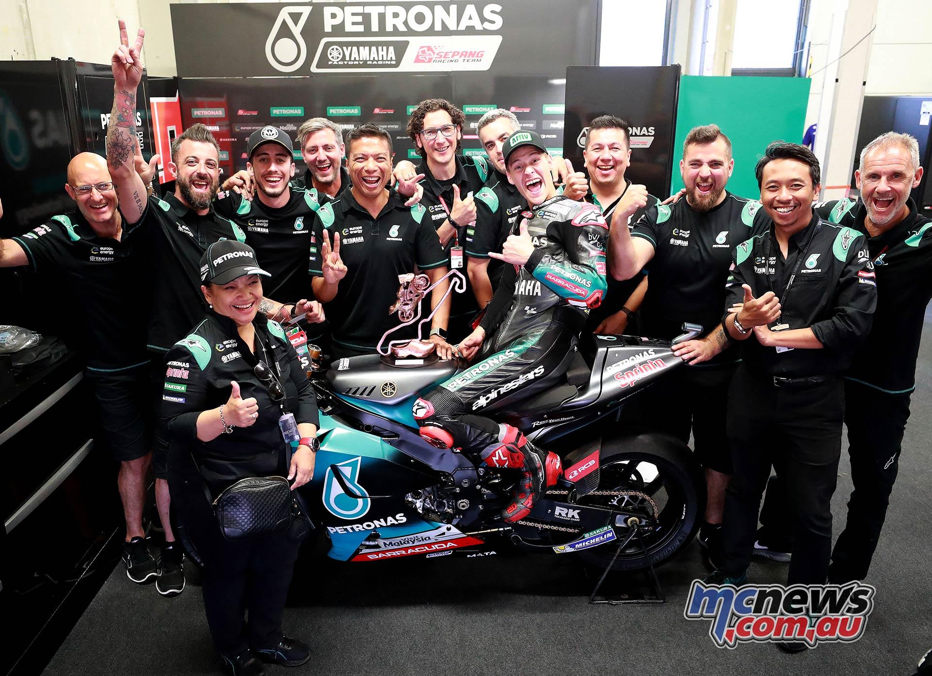 Petronas Yamaha Srt Boss On Motogp 2019 Thus Far Motorcycle News Sport And Reviews