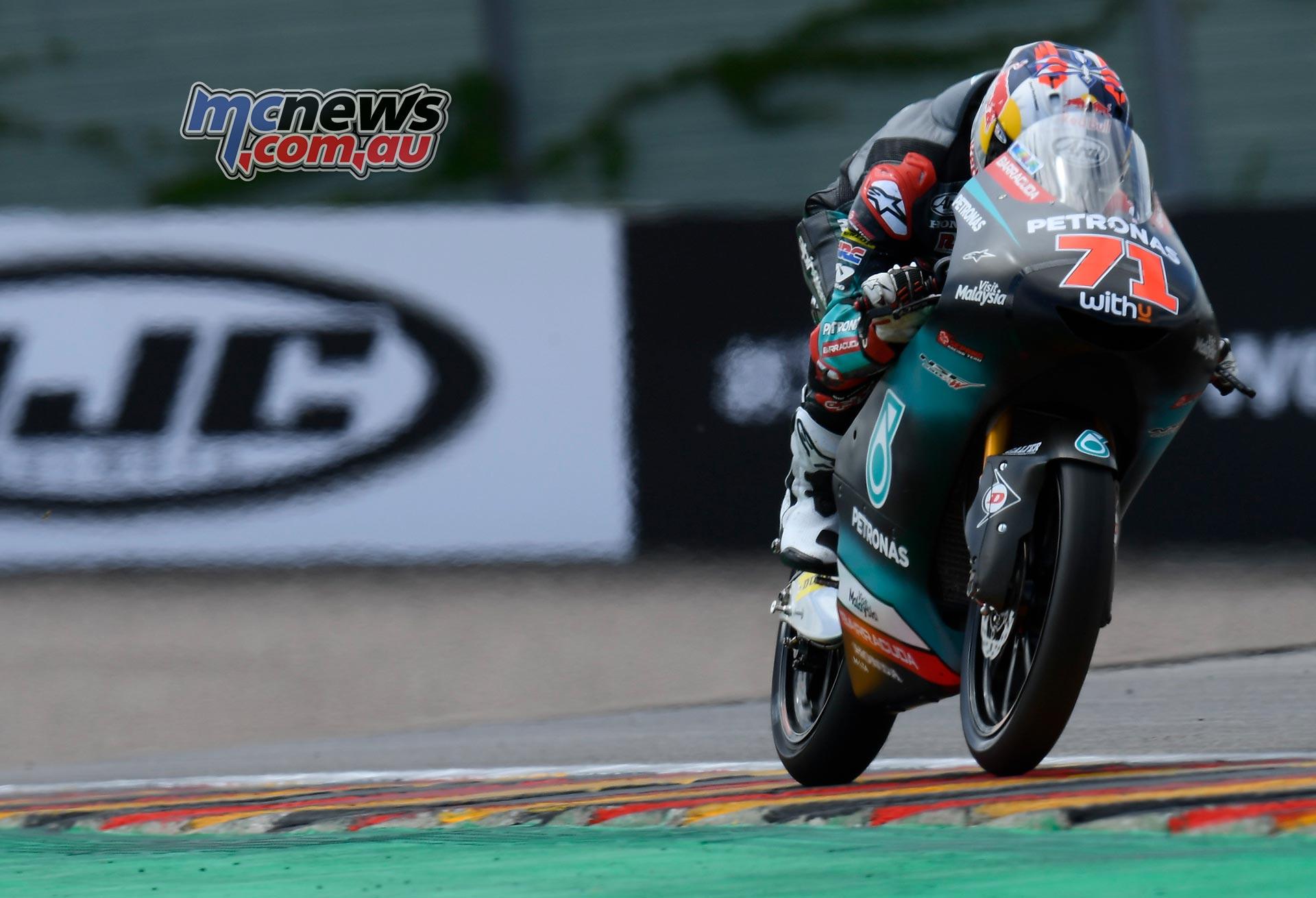 MotoGP Rnd Sachsenring Fri Ayumu Sasaki