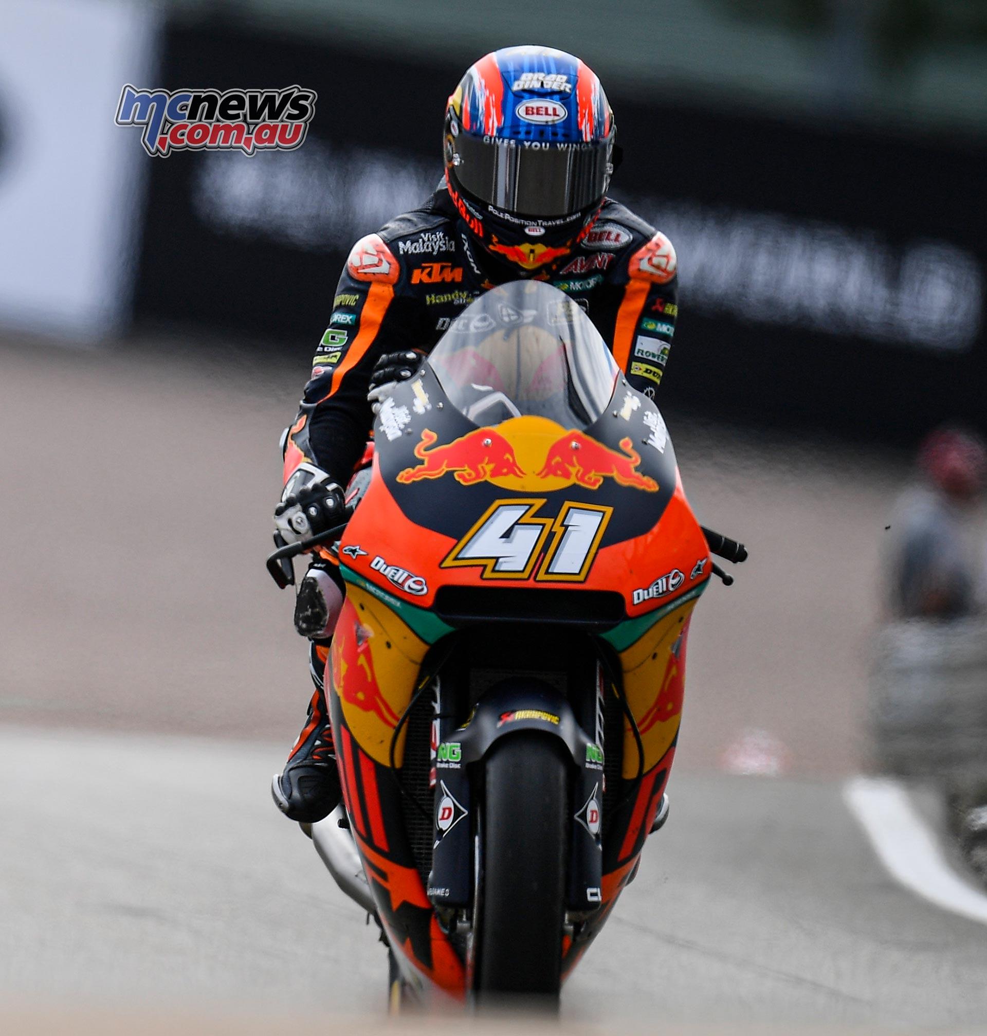 MotoGP Rnd Sachsenring Fri Brad Binder