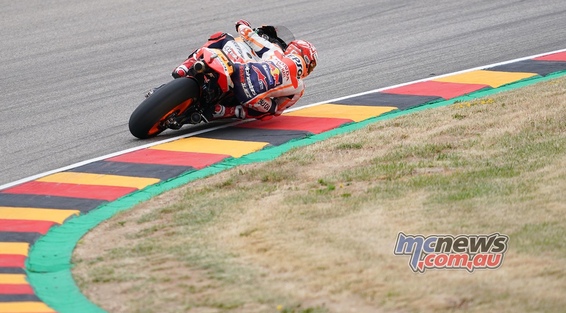 MotoGP Rnd Sachsenring Fri Marc Marquez