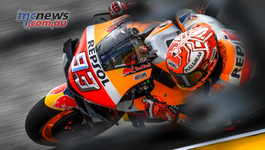 MotoGP Rnd Sachsenring Fri Marquez
