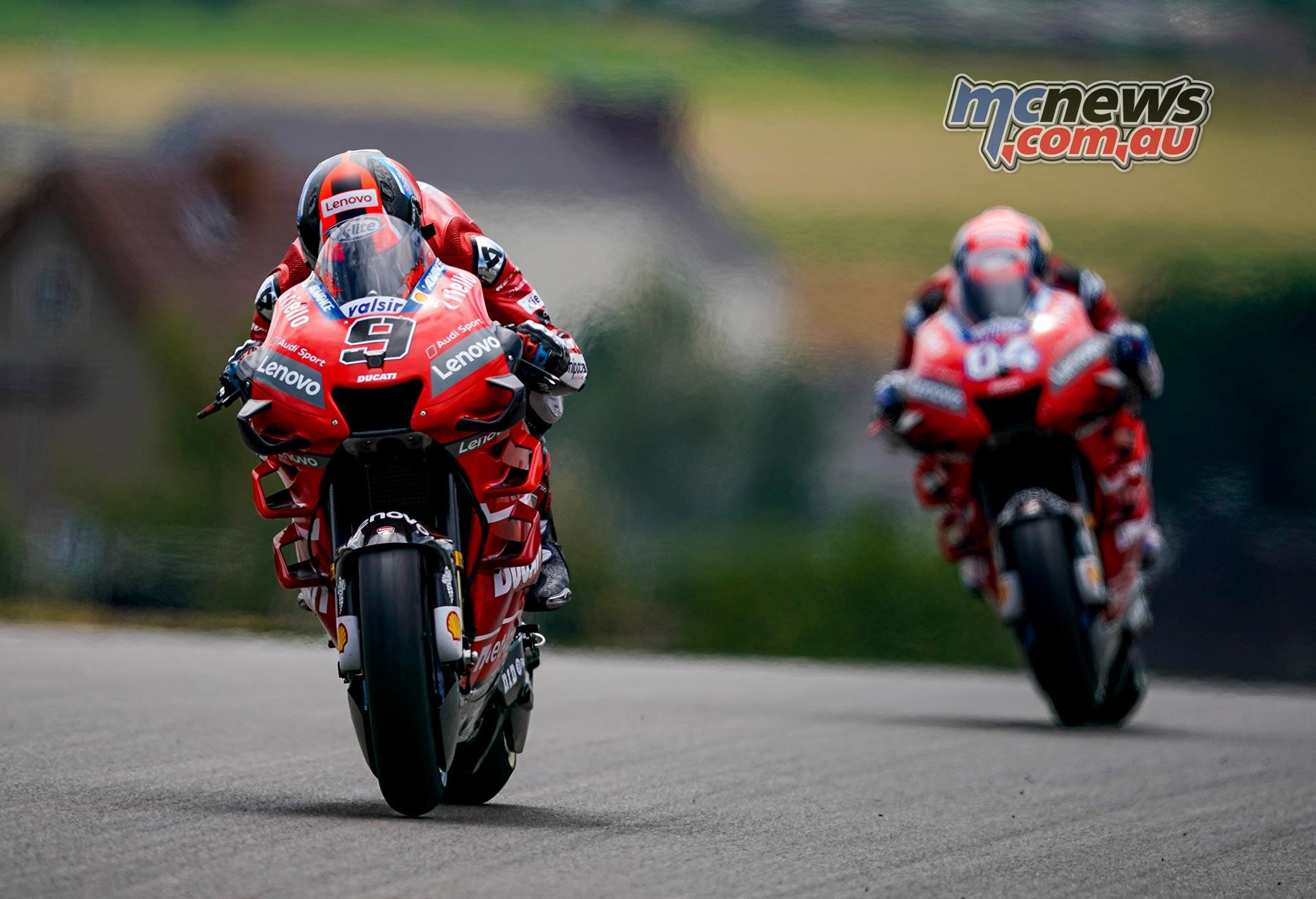 MotoGP Rnd Sachsenring Fri Petrucci