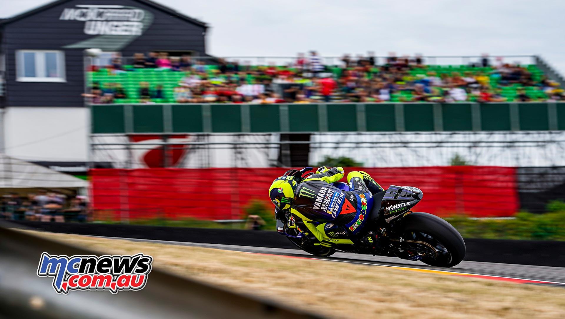 MotoGP Rnd Sachsenring Fri Rossi