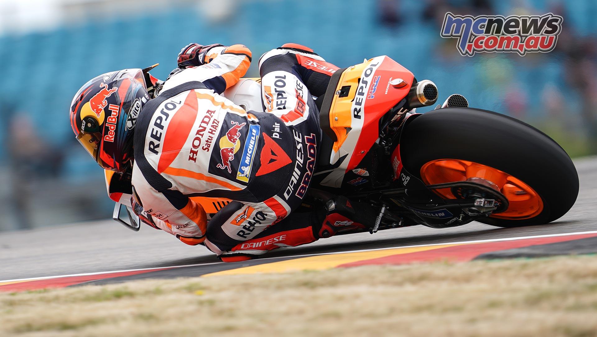 MotoGP Rnd Sachsenring Fri Stefan Bradl