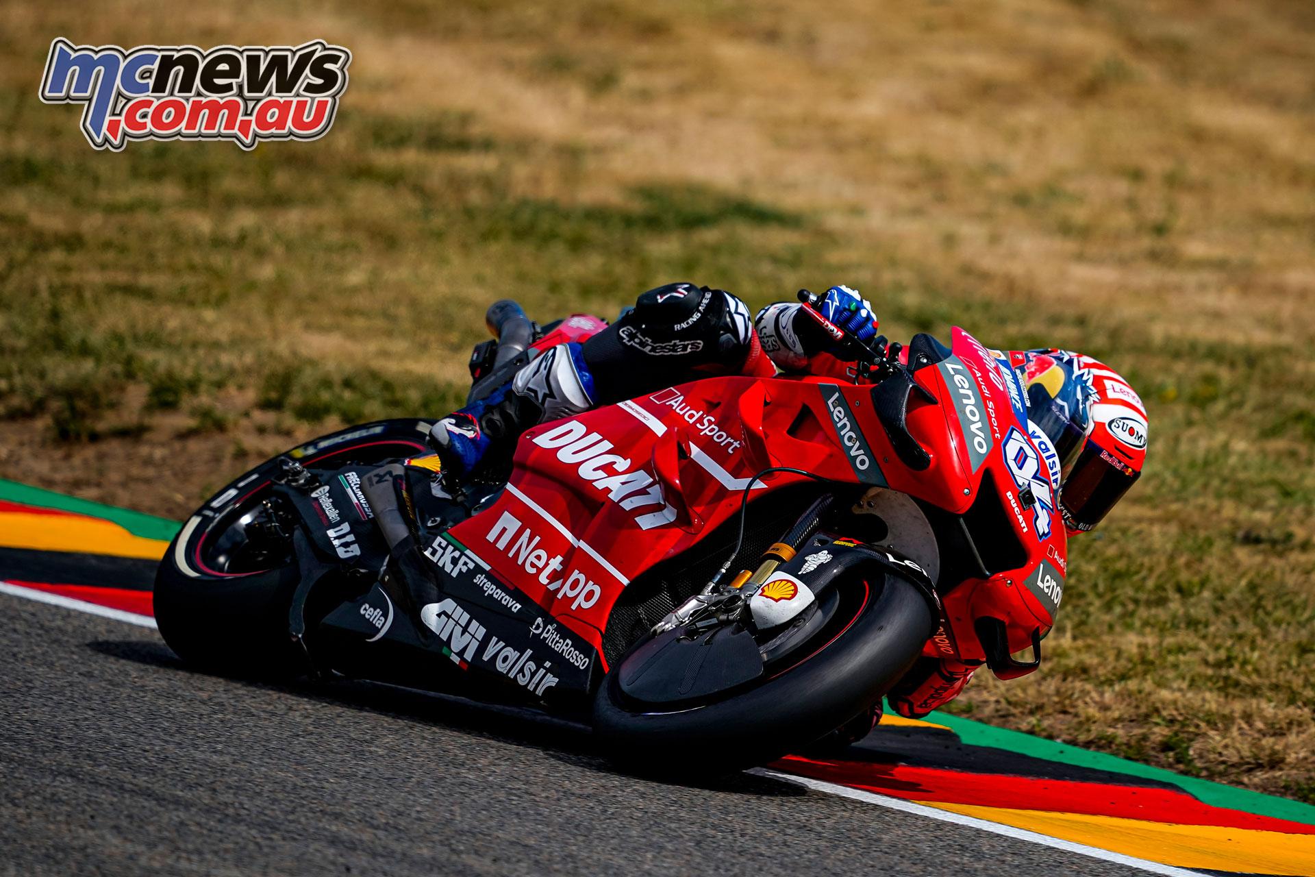 MotoGP Rnd Sachsenring Germany Andrea Dovizioso AX
