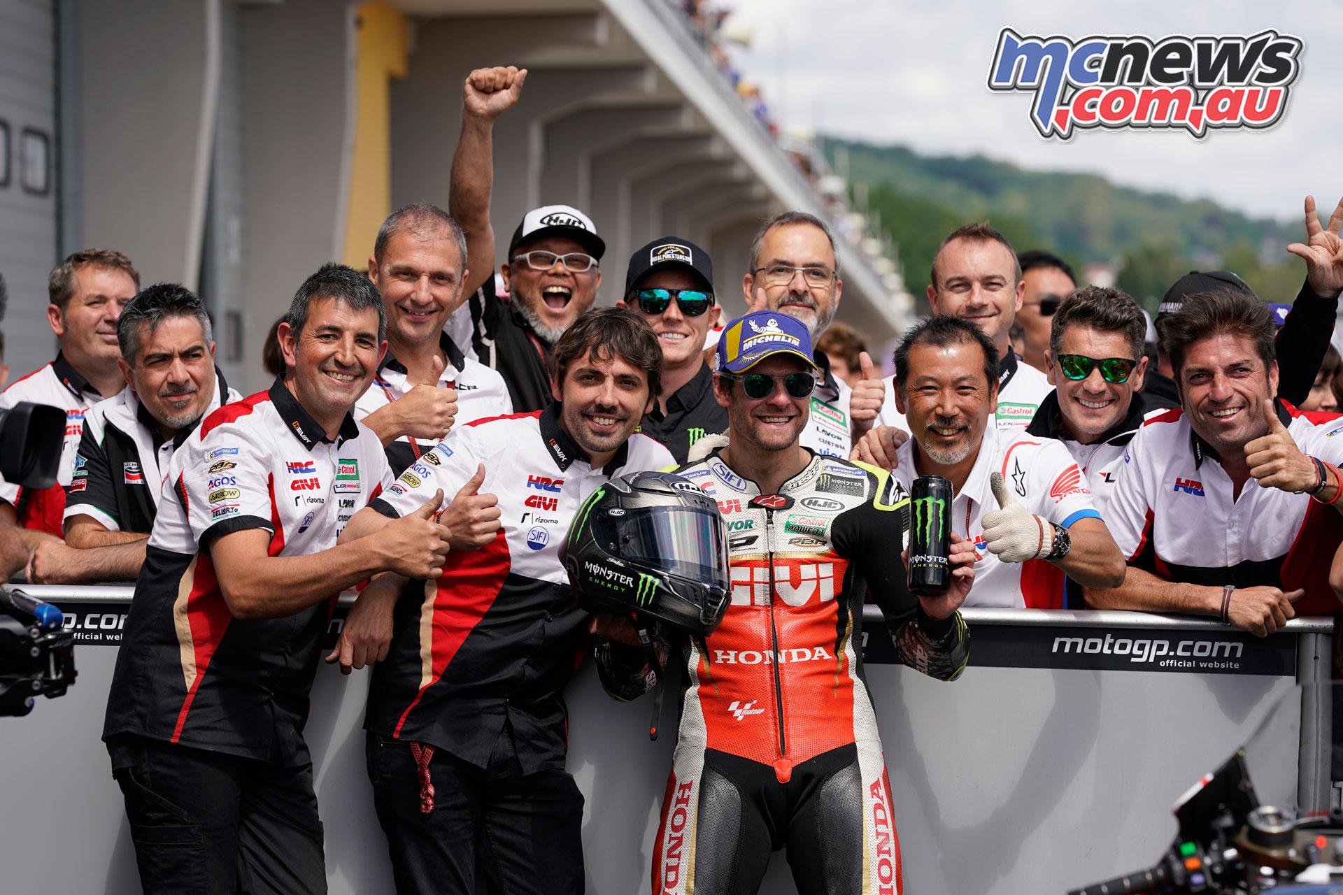 MotoGP Rnd Sachsenring Germany Cal Crutchlow AX