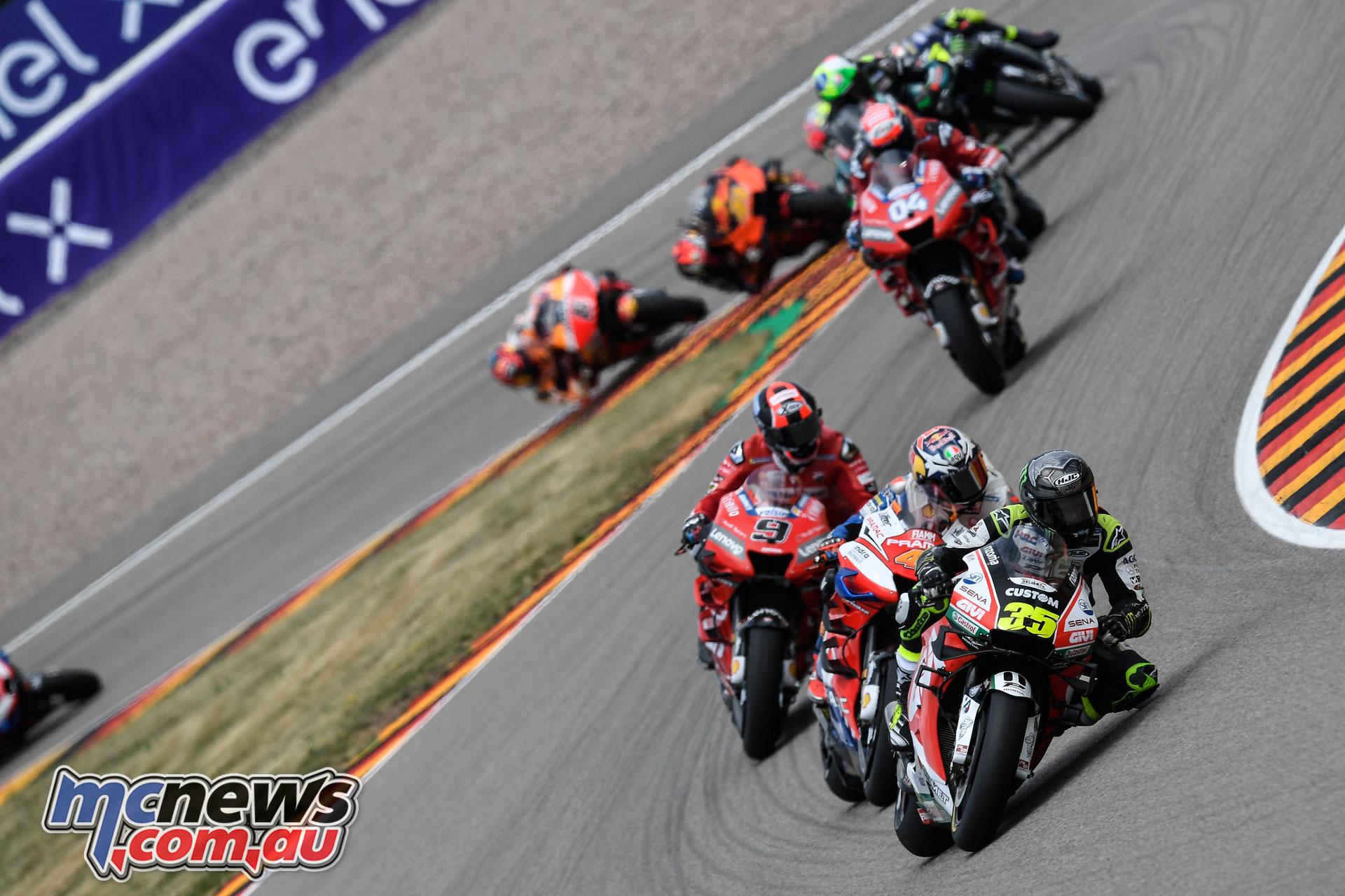 MotoGP Rnd Sachsenring Germany Cal Crutchlow G