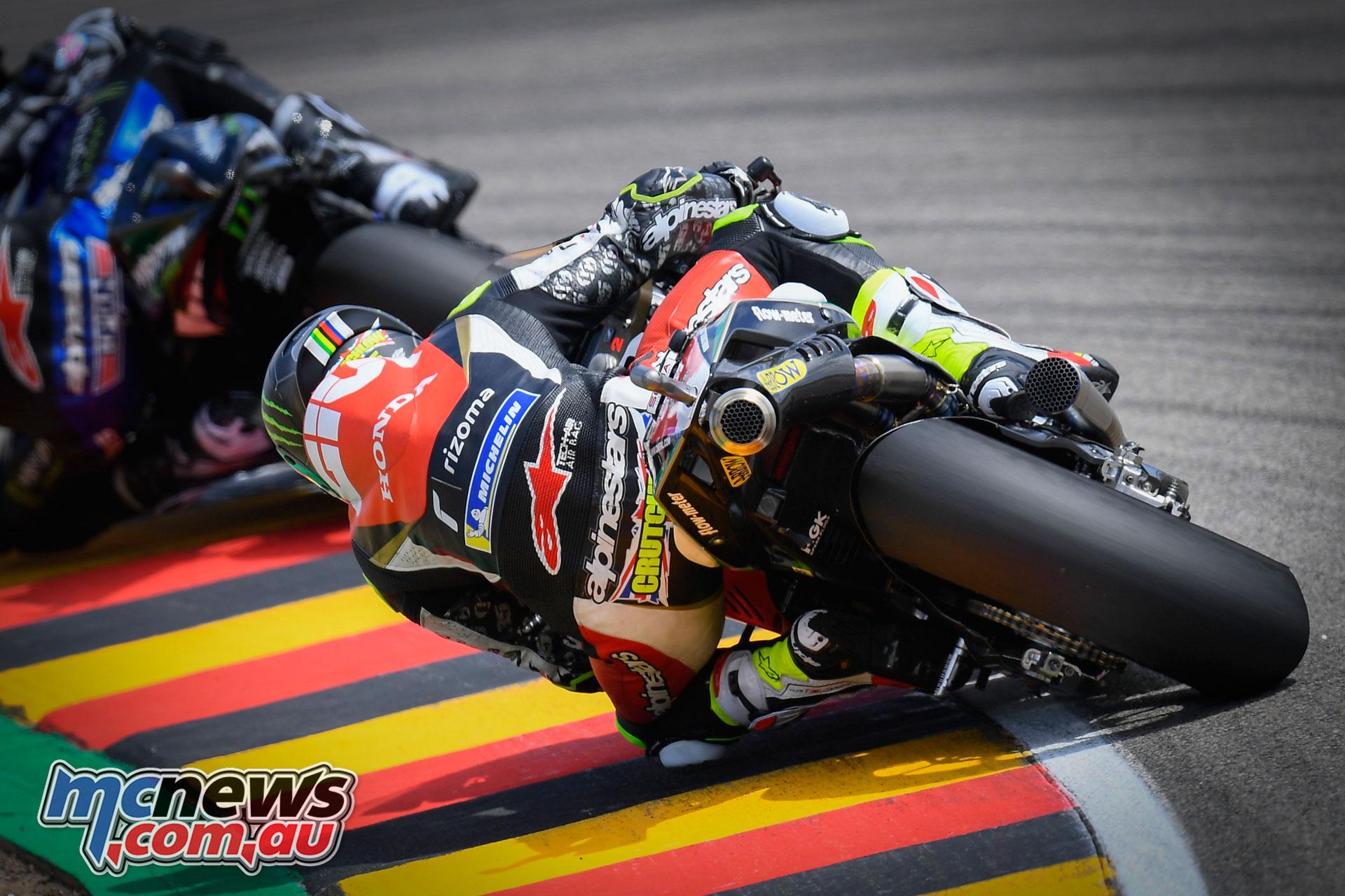 MotoGP Rnd Sachsenring Germany Cal Crutchlow