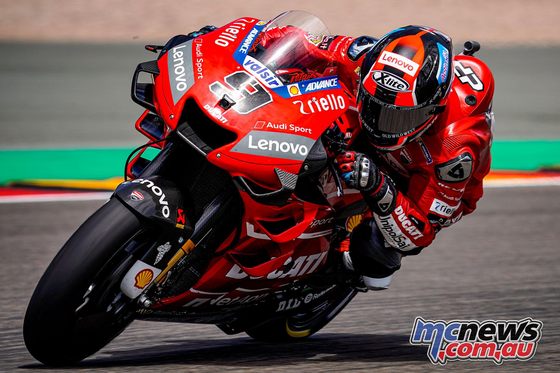 MotoGP Rnd Sachsenring Germany Danilo Petrucci AX