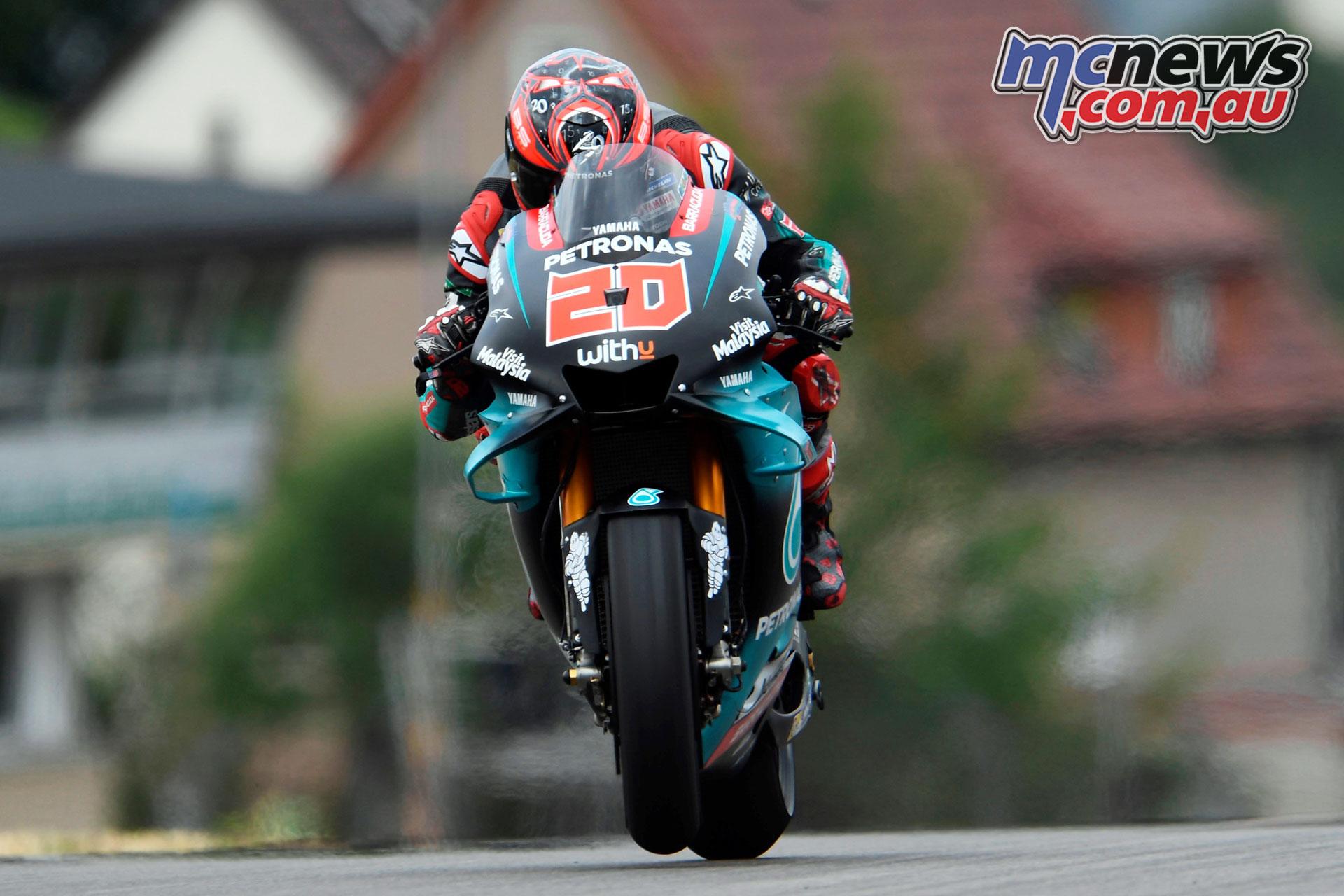 MotoGP Rnd Sachsenring Germany Fabio Quartararo