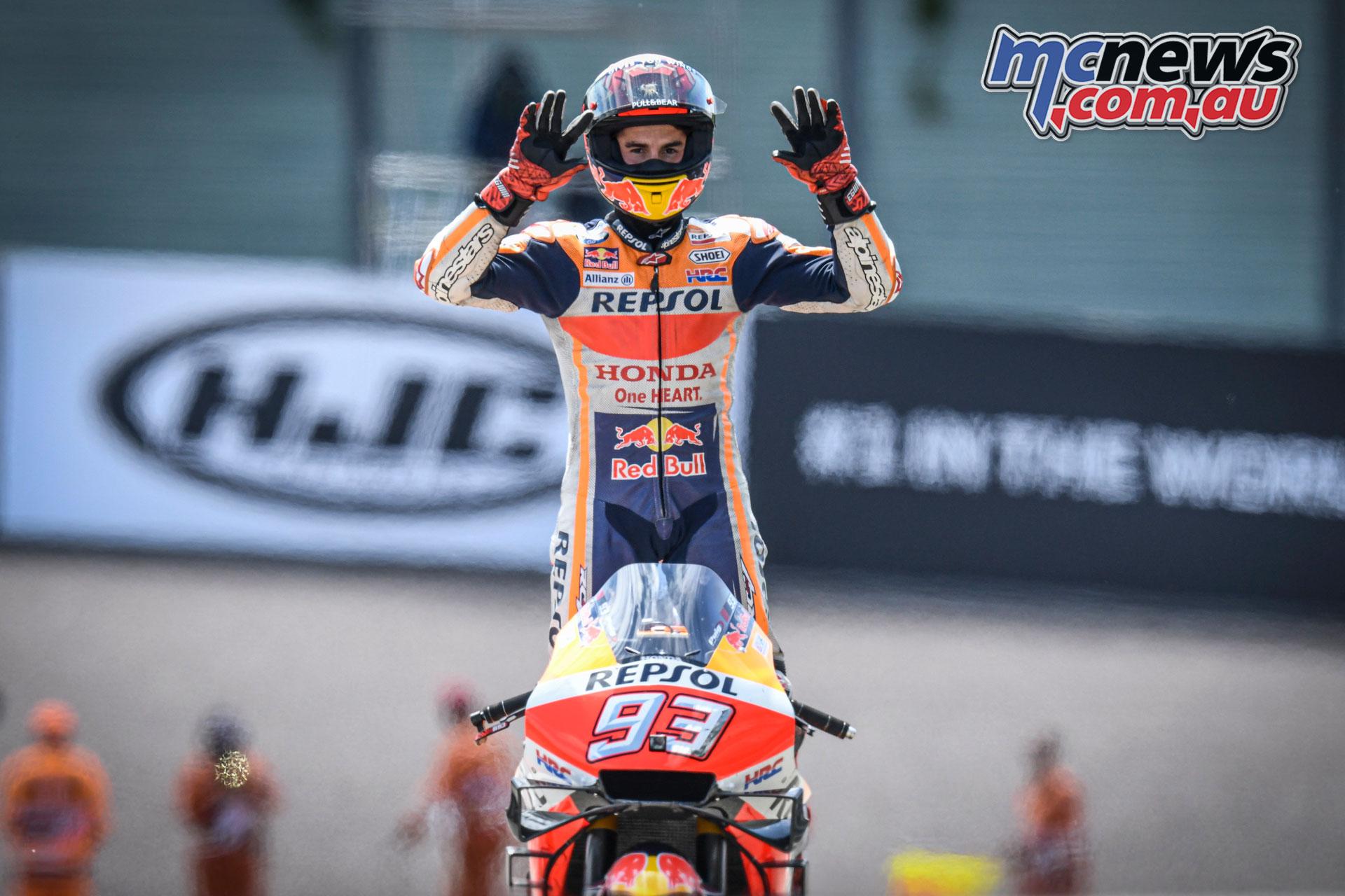 MotoGP Rnd Sachsenring Germany Marc Marquez