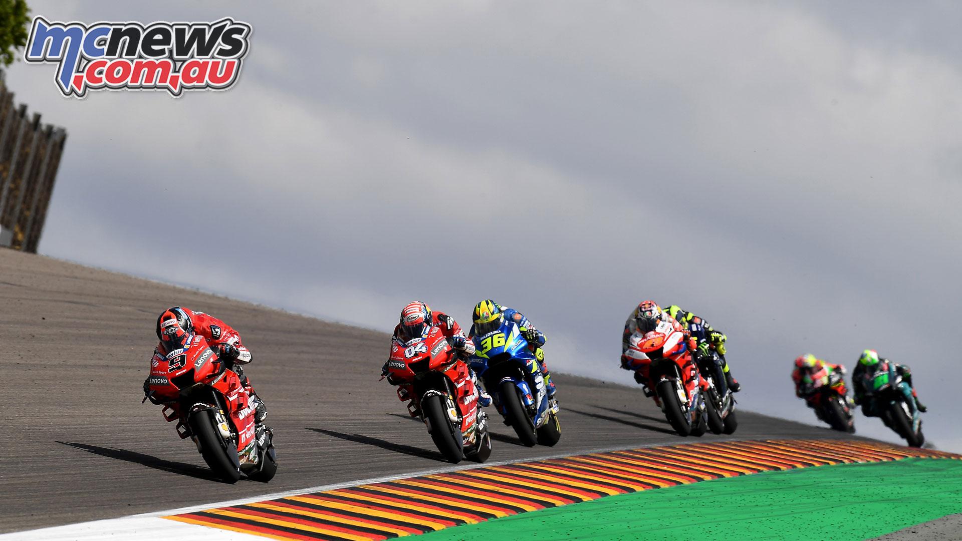 MotoGP Rnd Sachsenring Germany Petrucci Dovi