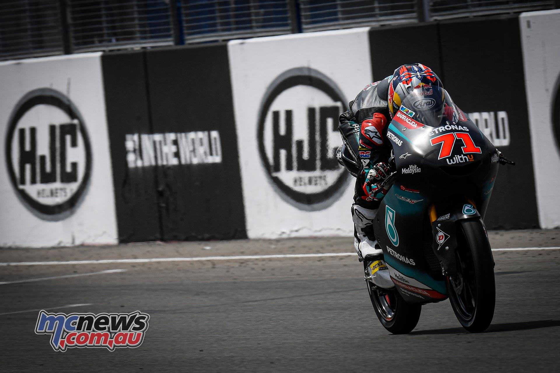 MotoGP Rnd Sachsenring QP Moto Ayumu Sasaki