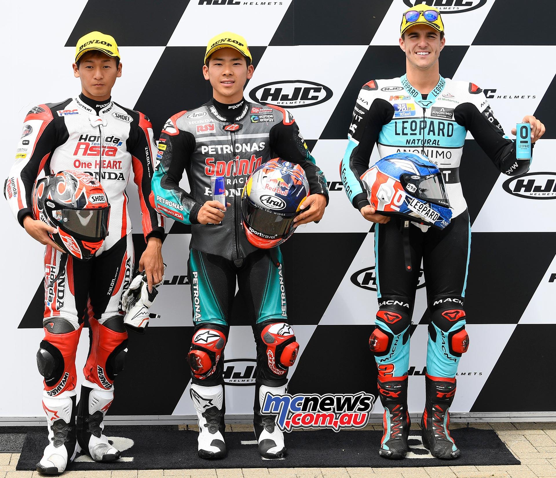 MotoGP Rnd Sachsenring QP Moto Toba Sasaki Ramirez